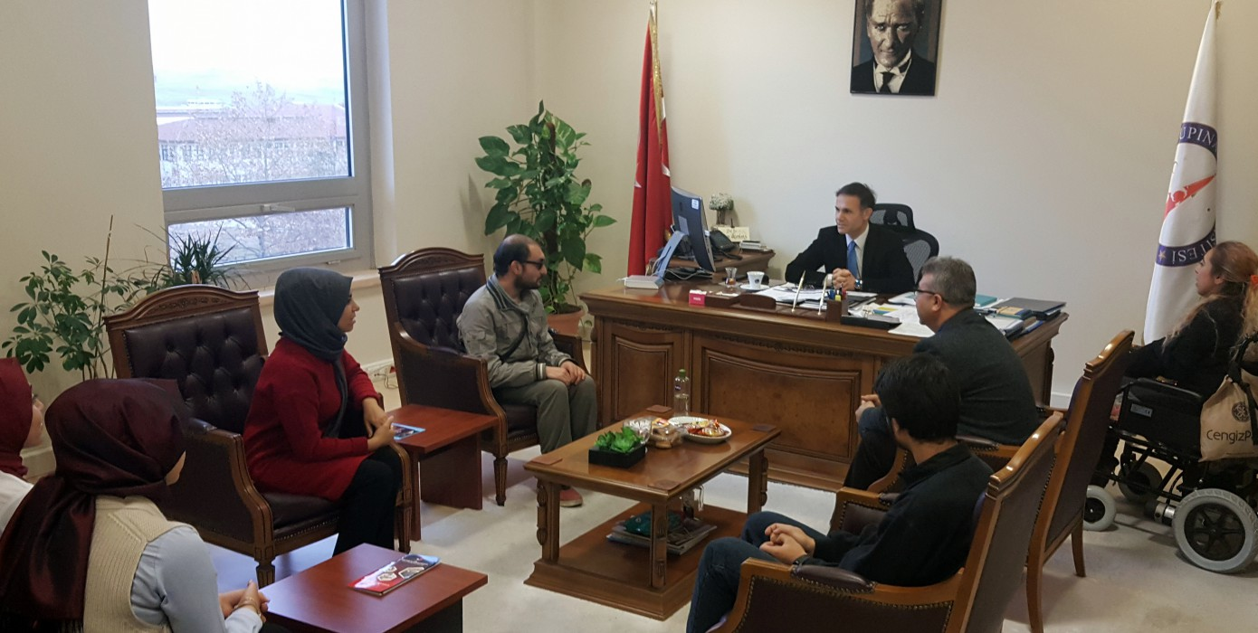 24 Kasım Öğretmenler Günü Rektör Yardımcısı Prof. Dr. Kaan Erarslana Ziyaret