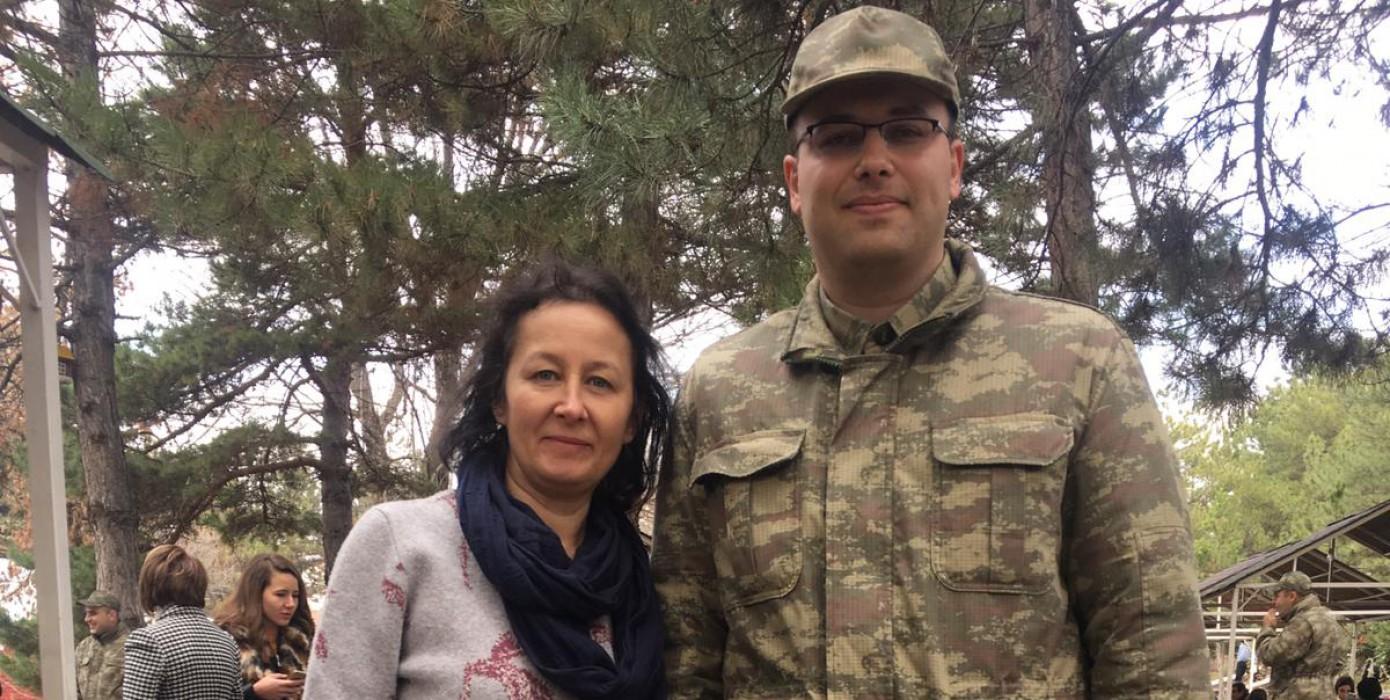 Halit Arat'a Asker Ziyareti