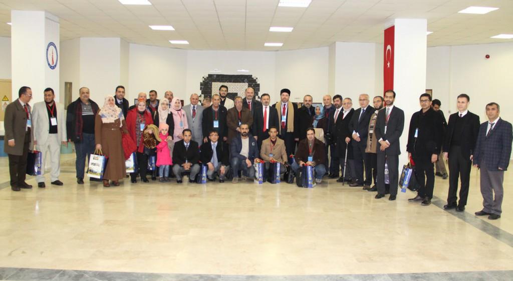 """""""Arap Hafızasında II. Abdülhamid ve Türk Arap İlişkileri"""" Uluslararası Sempozyumu Tamamlandı."""