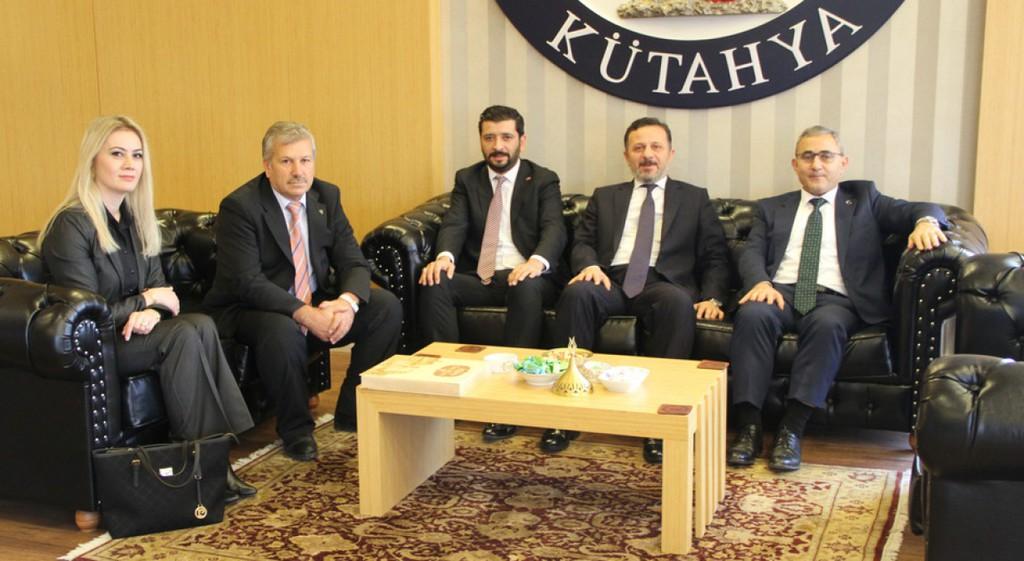 Prof. Dr. Alim Işık'tan Rektörümüze Ziyaret