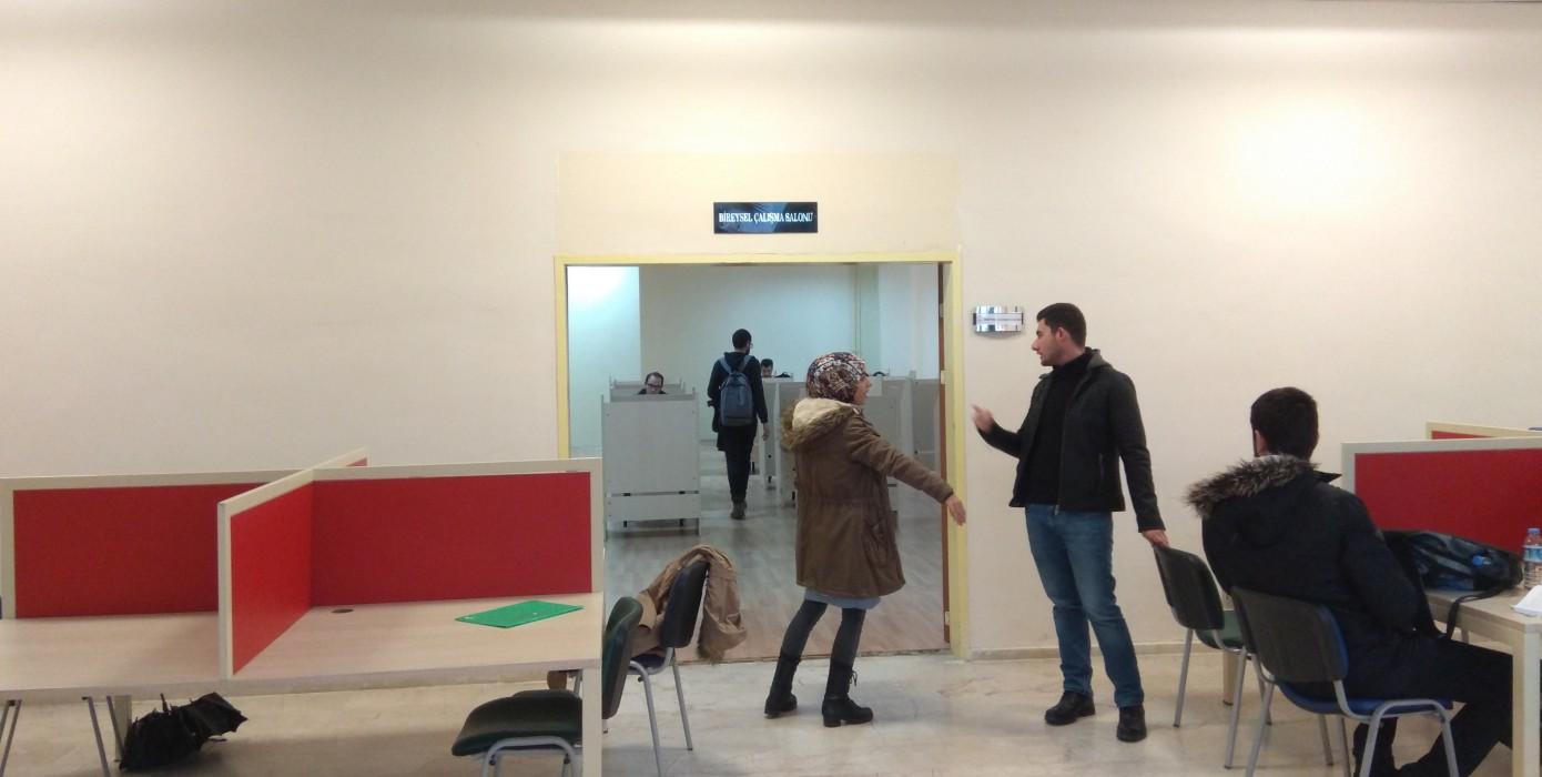 Ahteri Bireysel Çalışma Salonumuz Kullanıma Açılmıştır