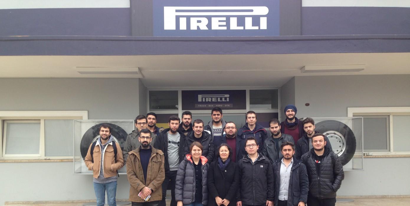 Ekin Endüstriyel ve Pirelli Teknik Gezisi