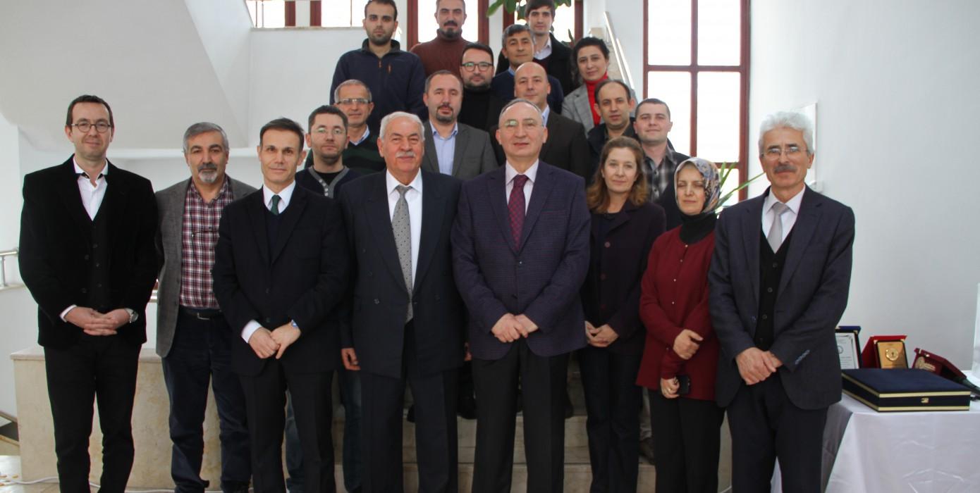 Sayın Prof. Dr. Ahmet Aydın İçin Fakültemizde Emeklilik Töreni Düzenlendi