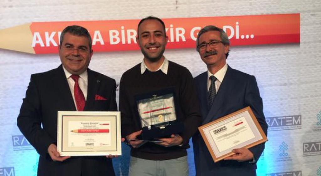 Teknik Bilimler MYO Öğrencimiz Aykut Topçu'dan Büyük Başarı