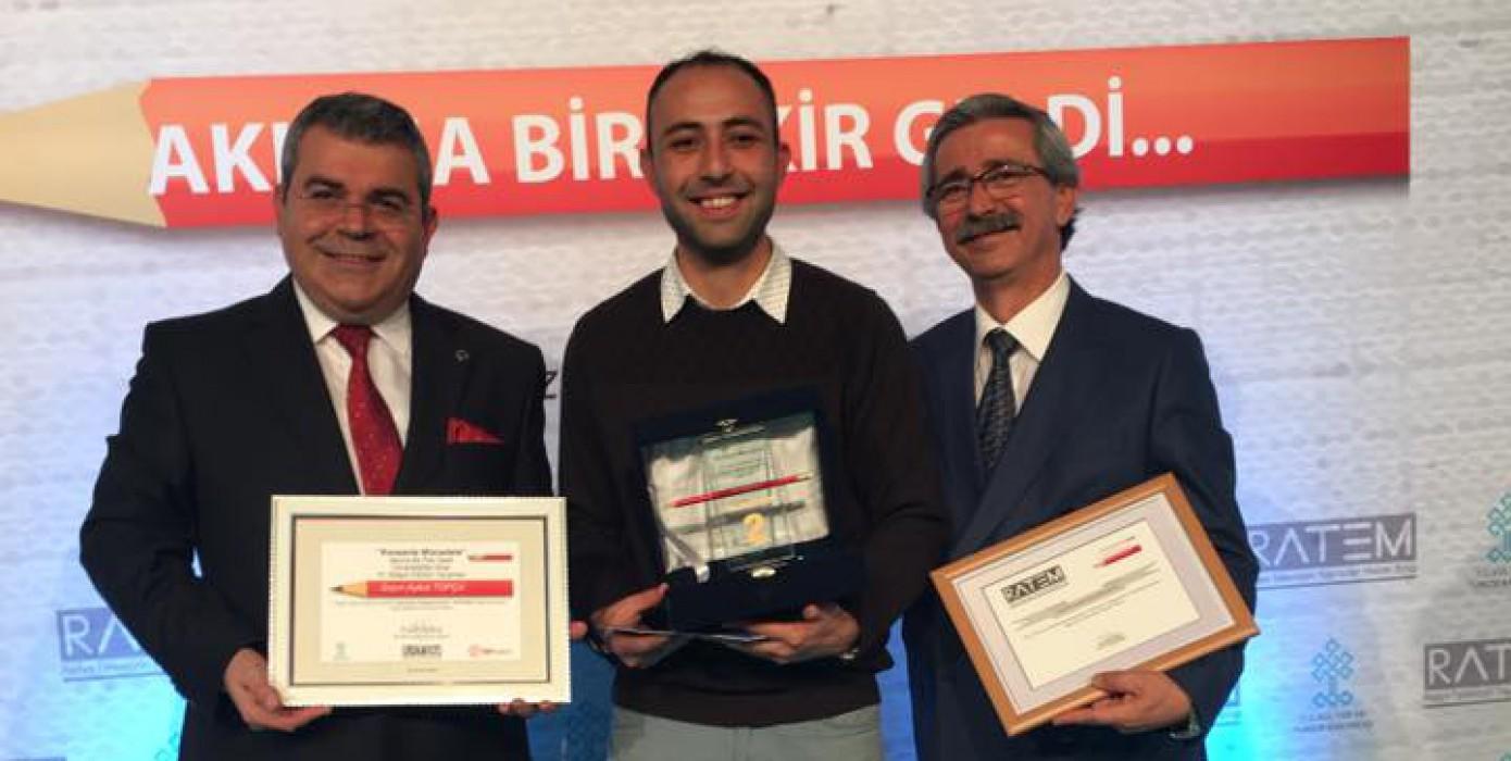 Meslek Yüksekokulumuz Öğrencisi Aykut Topçu'dan Büyük Başarı