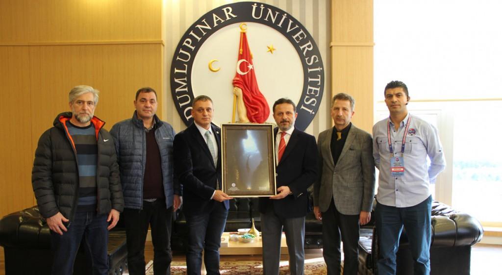 TSSF Başkanı Özen'den Rektörümüze Ziyaret