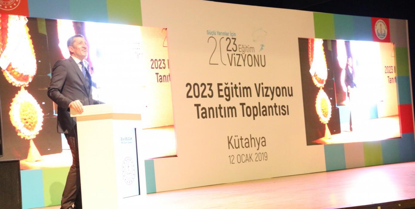 2023 Eğitim Vizyonu Tanıtım Toplantısı