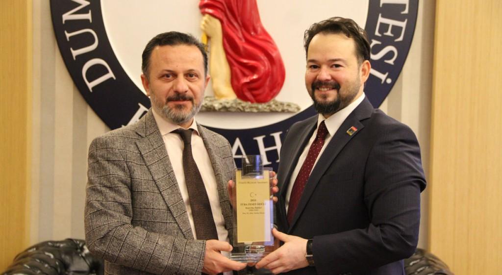 Doç. Dr. Altay Tayfun Özcan'dan Rektörümüze Ziyaret