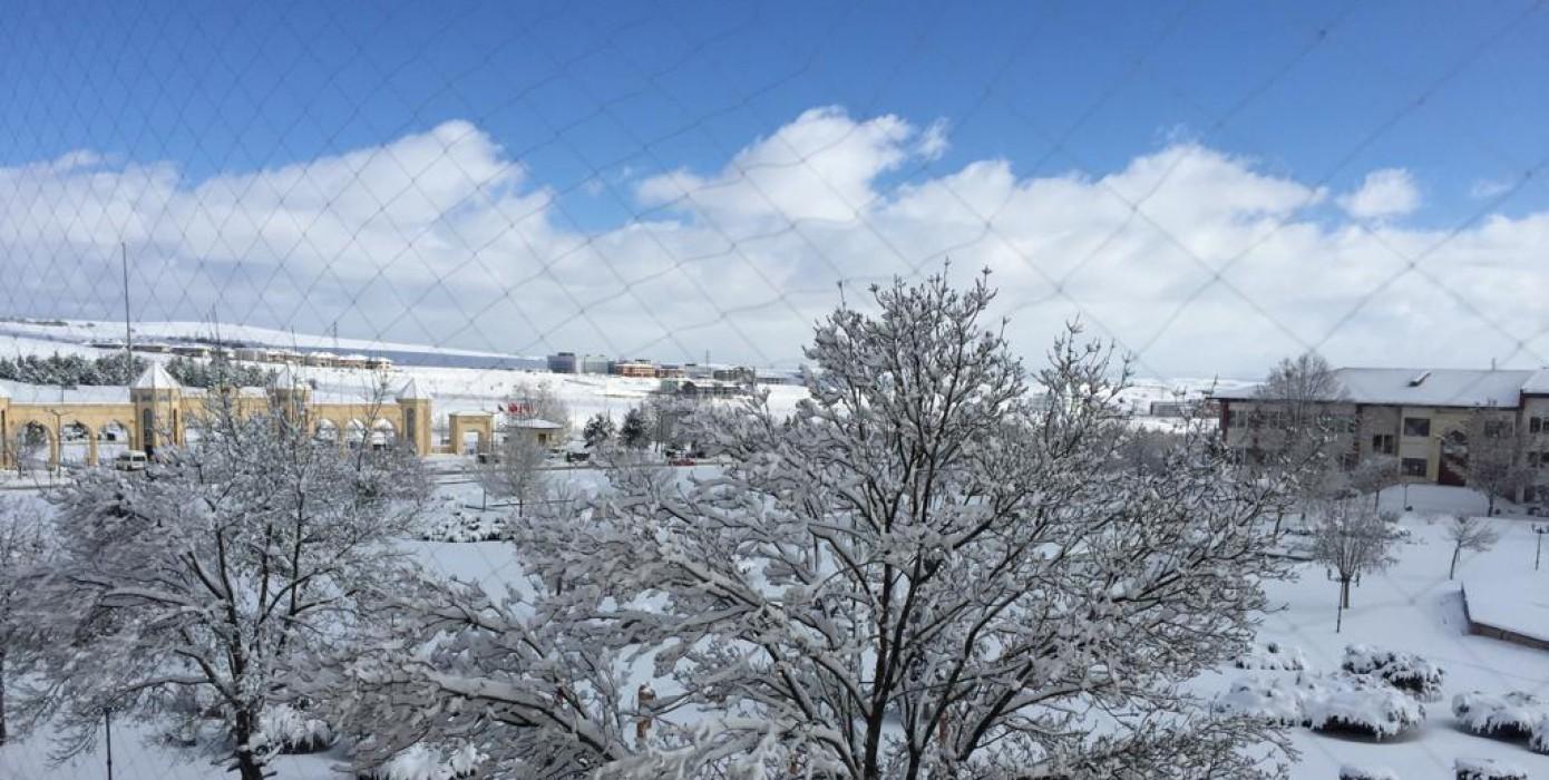 Fakültemizde 2019 Yılı Kış Manzaraları