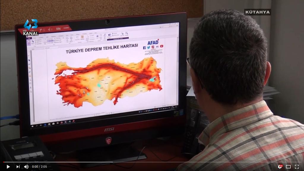 Türkiye'nin Deprem Tehlike Haritası Yenilendi