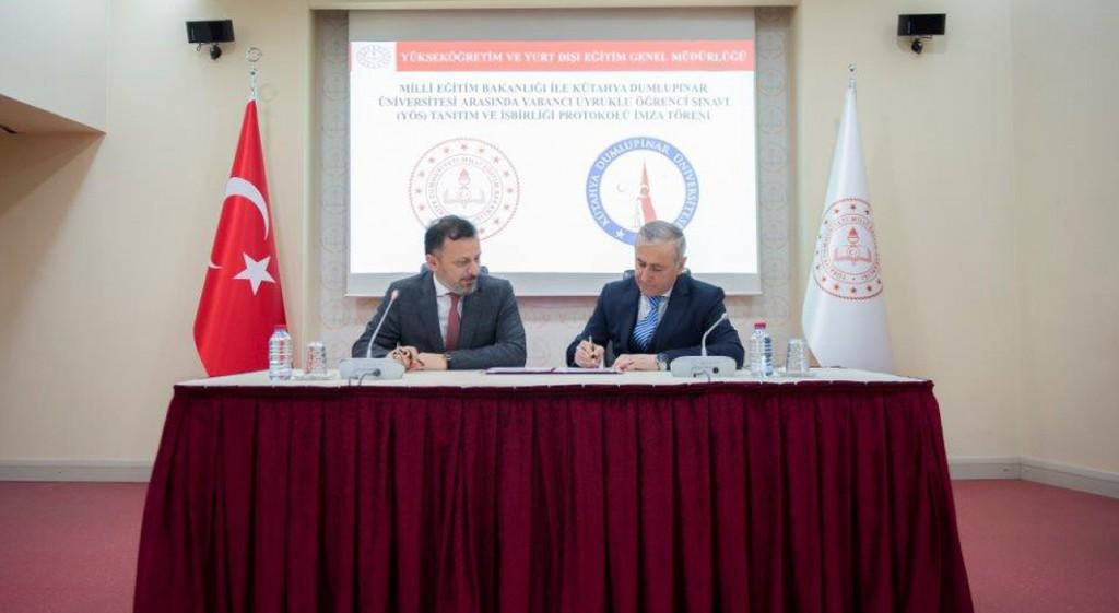 DPÜ ile MEB Arasında YÖS'te İş Birliği Protokolü