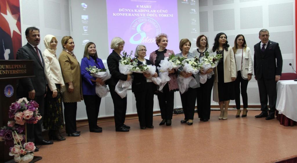 8 Mart Dünya Kadınlar Günü Ödülleri Sahiplerini Buldu