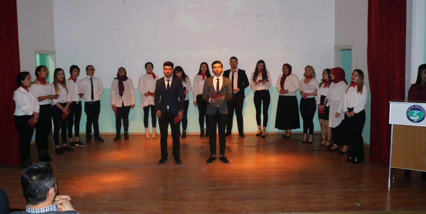 İstiklal Marşının Kabul Edilişinin 98. Yılı ve Milli Şairimiz Mehmet Akif Ersoy'u Anma Programı