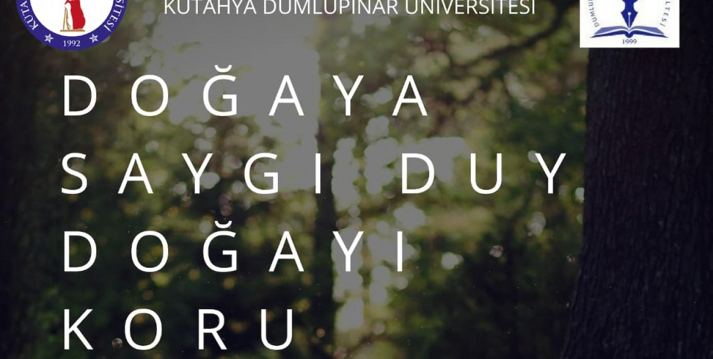Dumlupınar Üniversitesi Eğitim Fakültesinde Ağaç Dikme Etkinliği