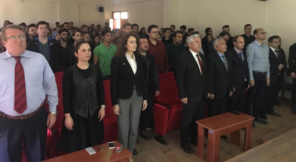 Simav Meslek Yüksekokulunda Çanakkale Şehitleri Anıldı