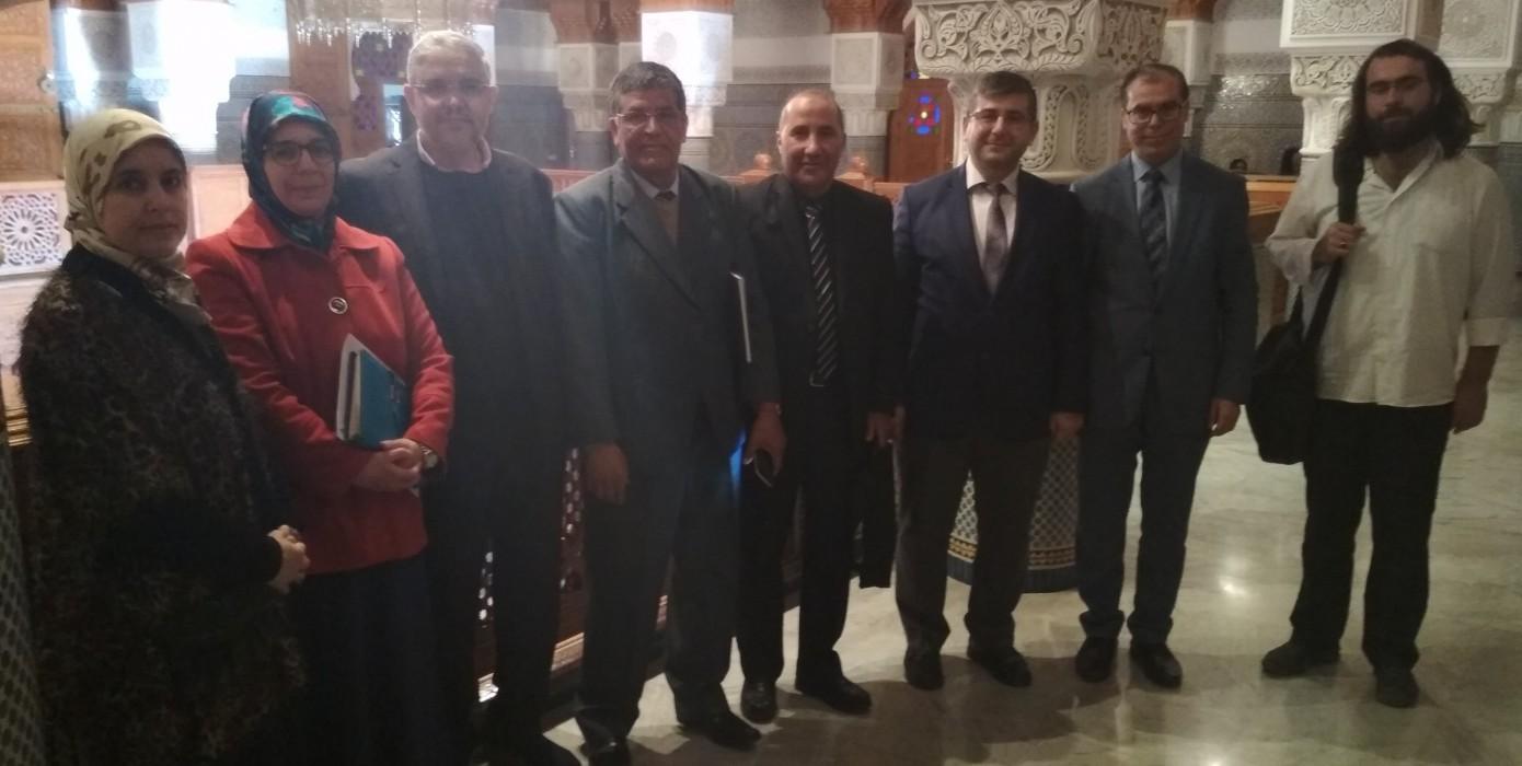 Fas'taki Bazı Üniversitelerle İşbirliği Anlaşması Görüşmeleri Gerçekleştirildi