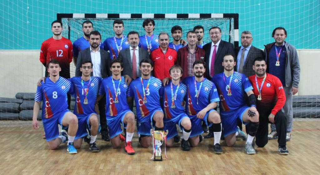 Hentbol 1. Lig'de Şampiyon DPÜ