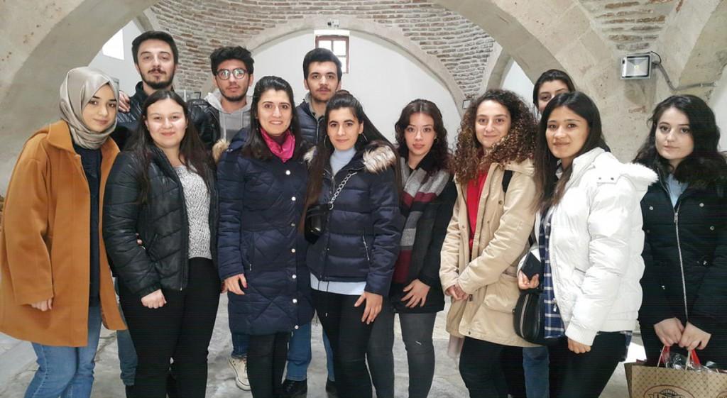 DPÜ Öğrencilerinden Müzede Matematik Projesi