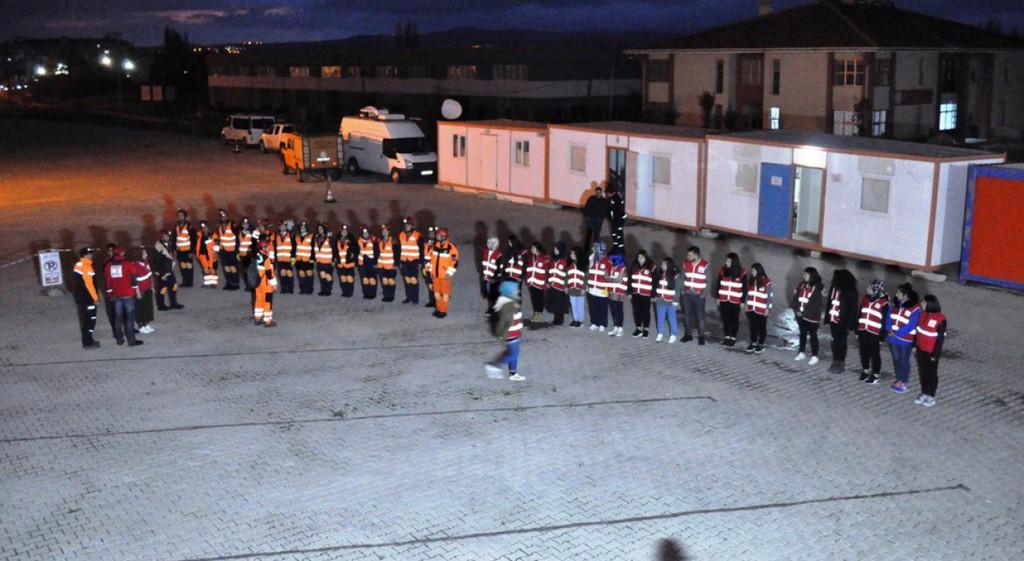 AFAD - DPÜ Toplulukları İş Birliğiyle Tahliye ve Kurtarma Tatbikatı