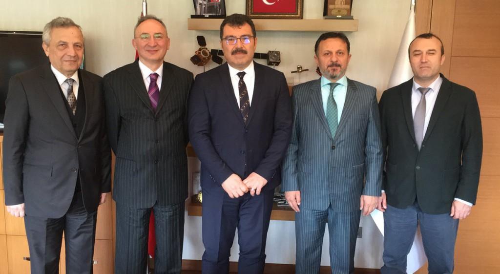 Rektörümüz Prof. Dr. Remzi Gören'den TÜBİTAK'a Ziyaret