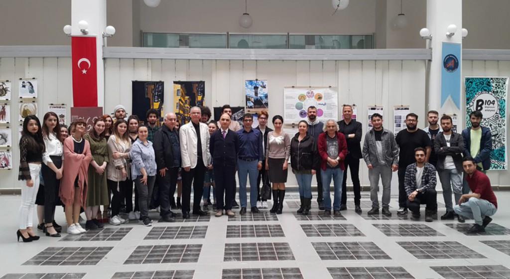 DPÜ'nün Grafik Tasarım Ürünleri Sergisi Akdeniz Üniversitesinde