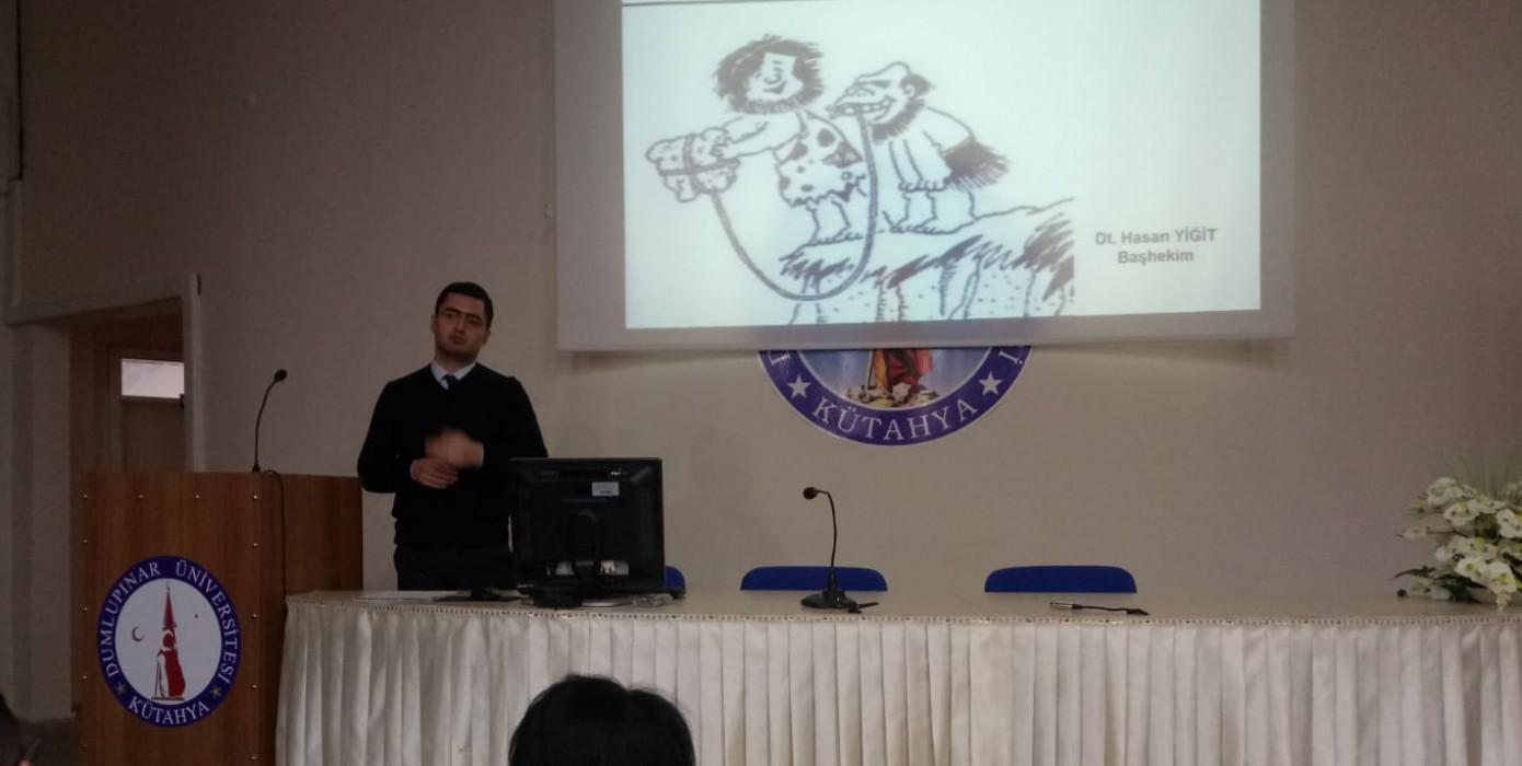 Ağız ve Diş Sağlığı Bilinmesi Gerekenler Konferansı