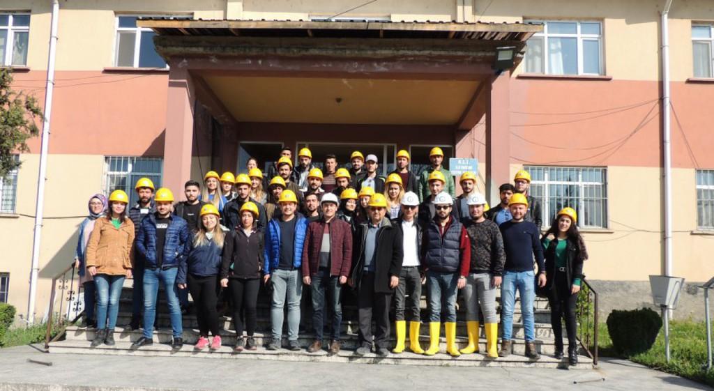 Tavşanlı MYO Öğrencilerinden TKİ'ye Teknik Gezi