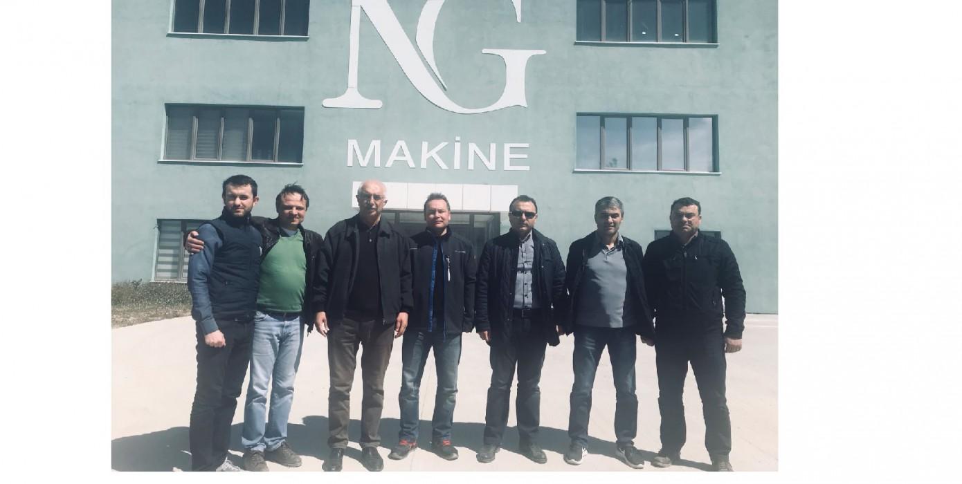 Üniversite- Sanayi İşbirliği Kapsamında Ng Makine ile Toplantı Yapıldı