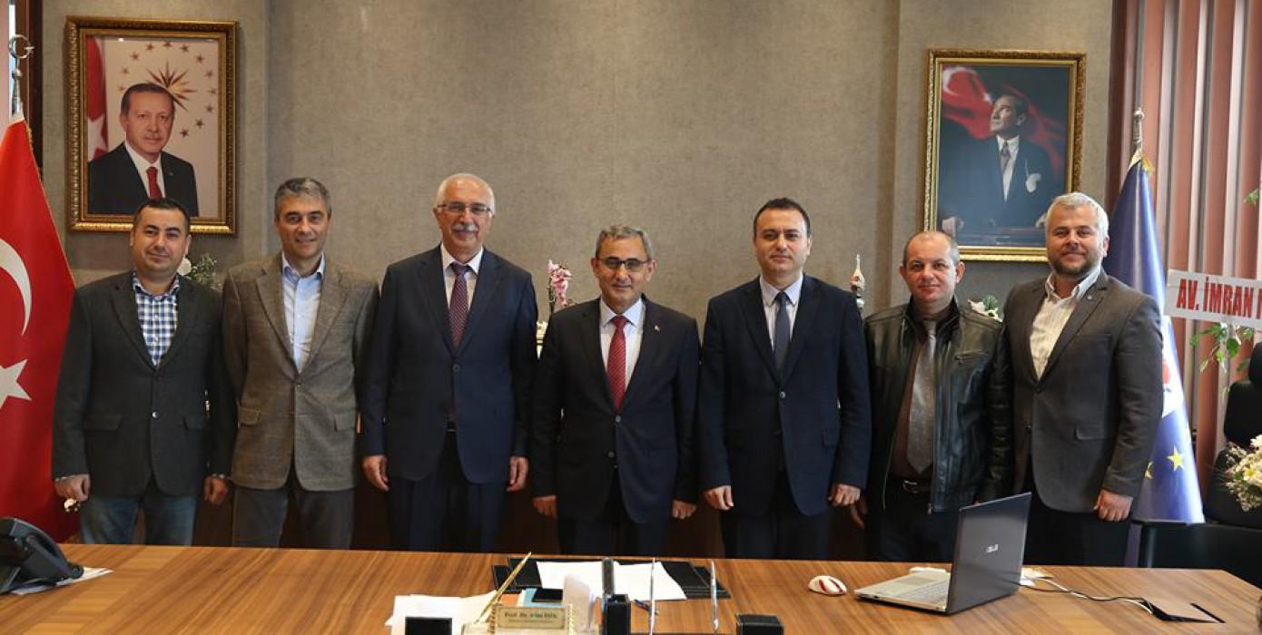 Bölümümüzden, Kütahya Belediye Başkanı Prof. Dr. Alim Işık'a Ziyaret !