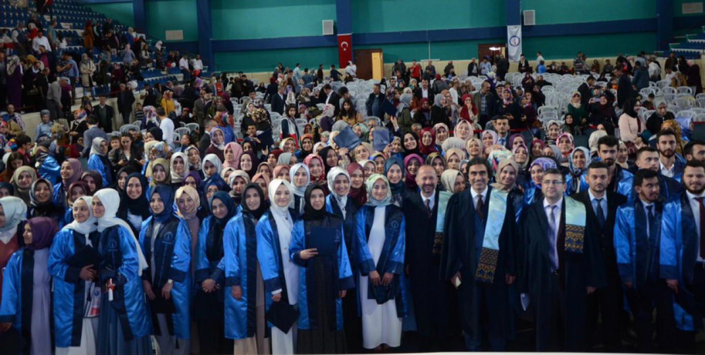 Kdpü İslami İlimler Fakültesinde Mezuniyet Heyecanı