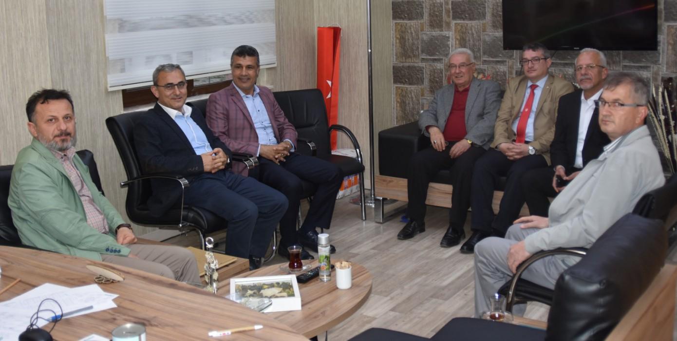 Kütahya'da 9.su Düzenlenen Türkiye Futbol Federasyonu Hakem ve Gözlemciler Derneği 2. Bölge Futbol Turnuvası ve Toplantısına Sayın Rektörümüz Prof. Dr. Remzi Gören ve Kütahya Sosyal Bilimler Meslek Yüksekokulu Müdürü Doç. Dr. Hakan Kara Katılmışlardır.