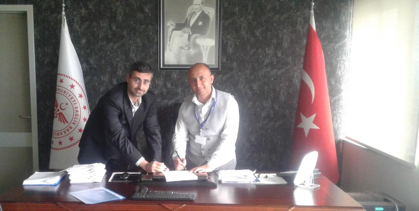 Tavşanlı Doç. Dr. Mustafa Kalemli Devlet Hastanesi ile Okulumuz Arasında İşbirliği Protokolü