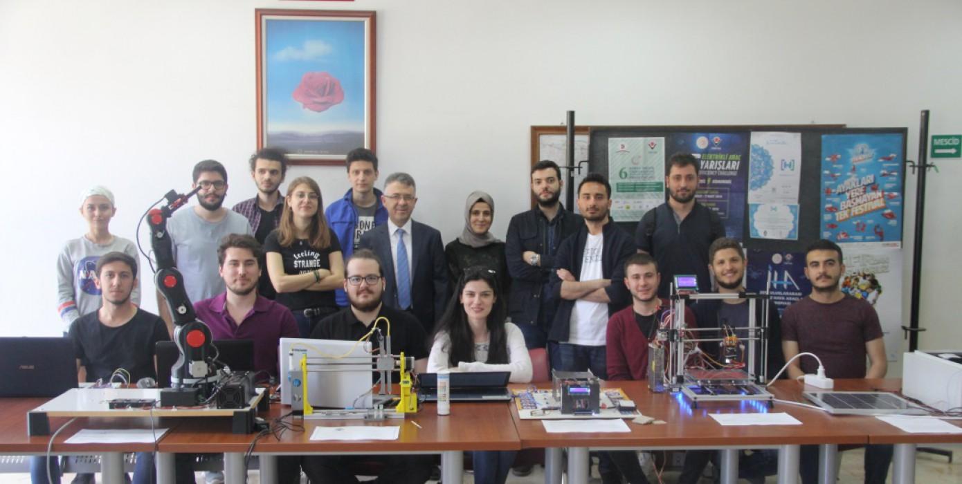 Bölümümüz Dönem Sonu Projeleri Sergisi