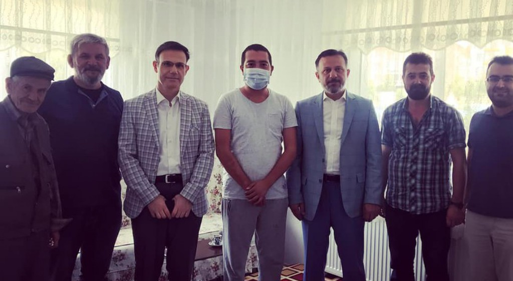 Prof. Dr. Remzi Gören'den Öğrencimiz Onur İpek'e Moral Ziyareti