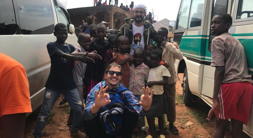 DPÜ EHAT Ugandalı Çocuklara Yardım Projesinde