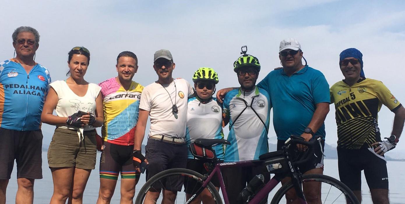 Köyceğiz'de Düzenlenen Bisiklet Festivali