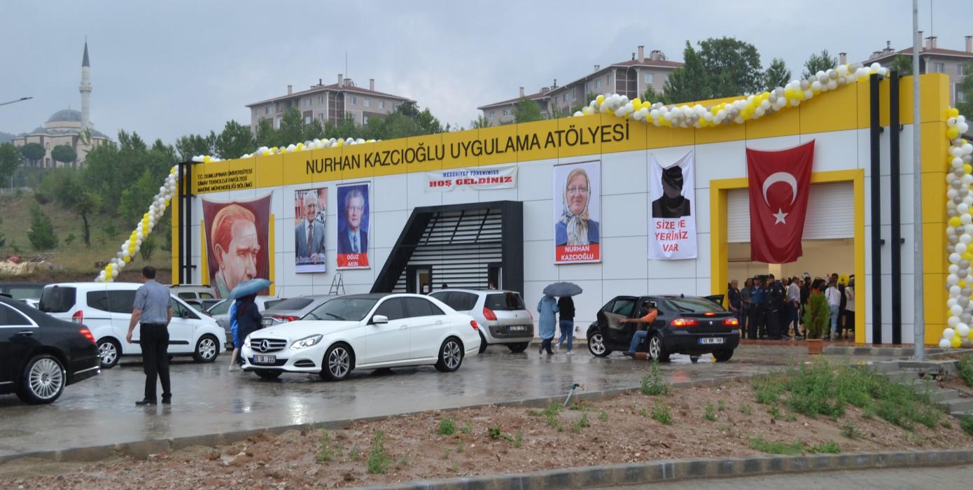 """Makine Mühendisliği Bölümü """" Nurhan Kazcıoğlu Uygulama Atölyesi """" Açılış Töreni"""
