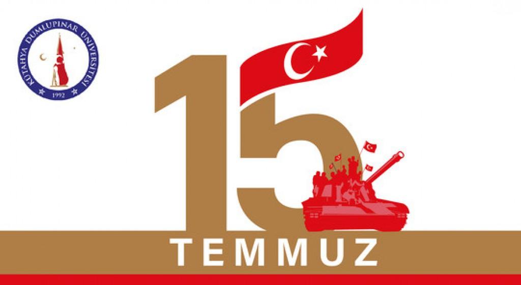 DPÜ'de 15 Temmuz Demokrasi ve Milli Birlik Günü Etkinlikleri