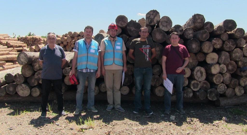 DPÜ AFAMER'in Orman Üretim İşcisi Sınavları Başladı