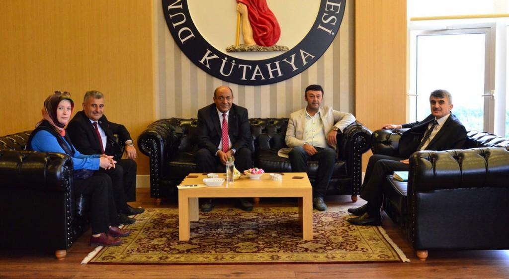 Prof. Dr. Kazım Uysal'a Nezaket Ziyaretleri Sürüyor