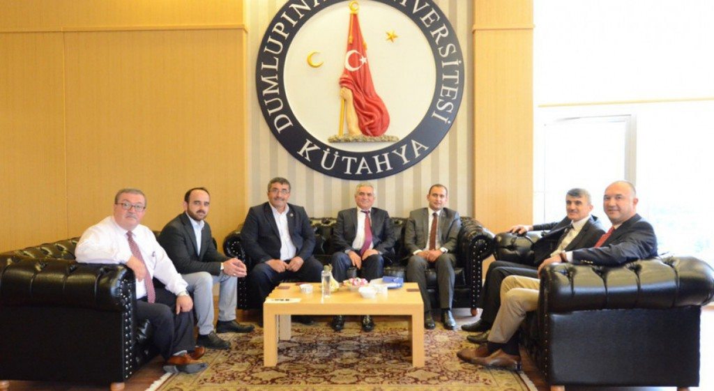 Dumlupınar District Protocol Visit to our Rector