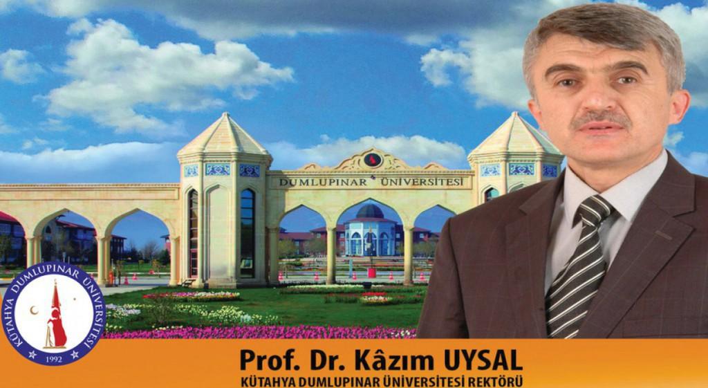 Prof. Dr. Kazim Uysal Assigned as Rector of Kütahya Dumlupınar University