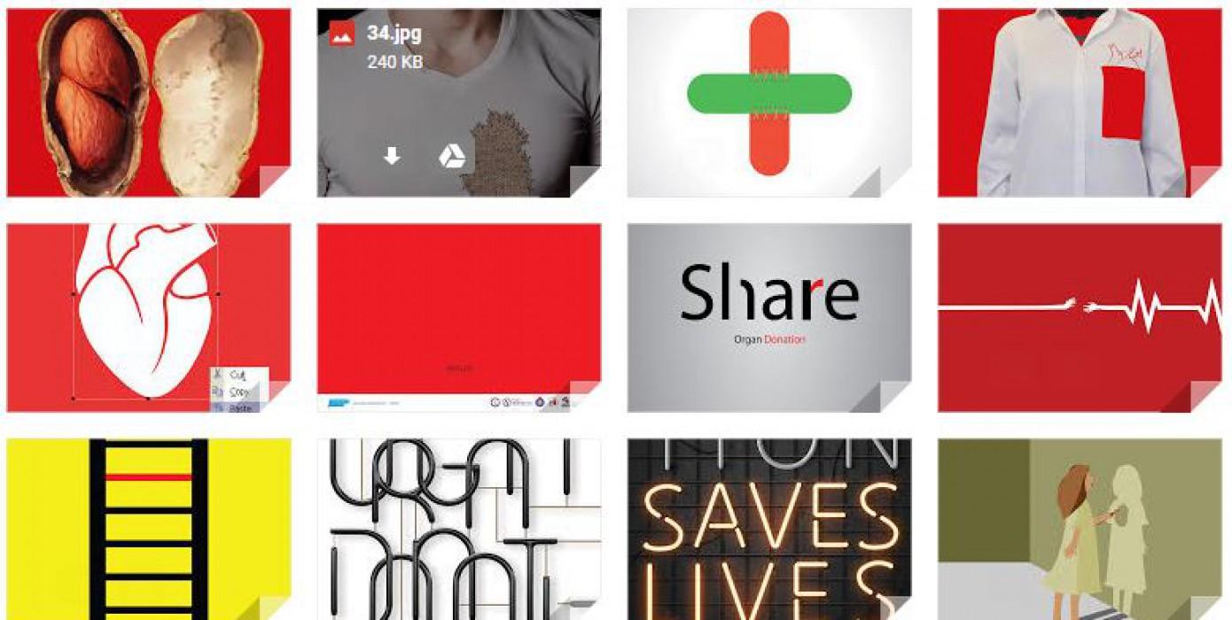 """Posterland.org """"Organ Bağışı"""" Konulu Uluslararası Afiş Tasarımı Yarışmasında Üniversitemiz Güzel Sanatlar Fakültesi Görsel İletişim Tasarımı Bölümü Öğrencileri Önemli Bir Başarı Elde Etti"""