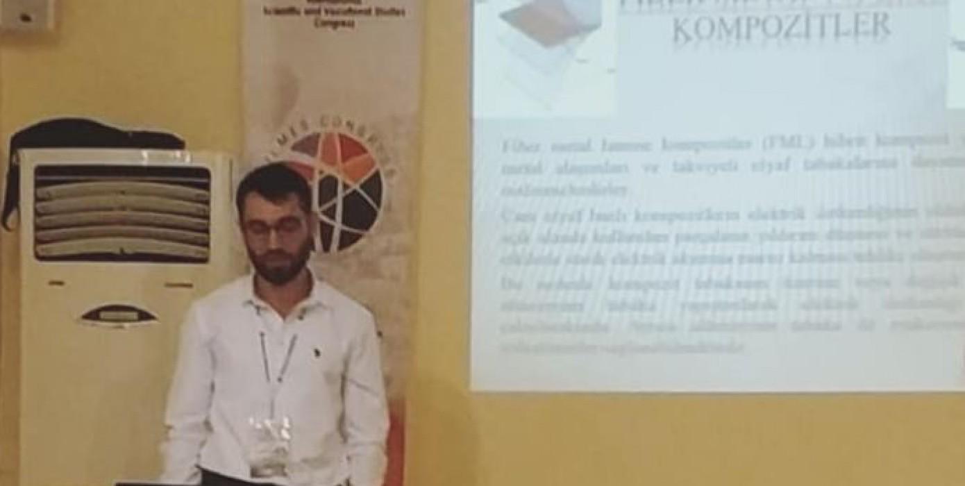 Üniversitemiz Simav Teknoloji Fakültesi İmalat Mühendisliği Bölümü Öğrencilerinin Uluslararası Sempozyumlara Katılımları