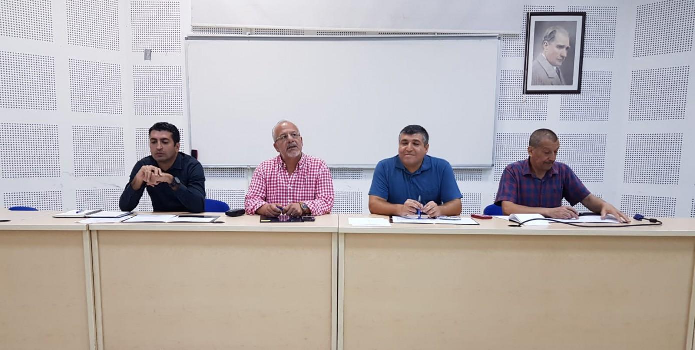 2019 - 2020 Eğitim Öğretim Yılı Akademik Kurul Toplantısı Yapıldı