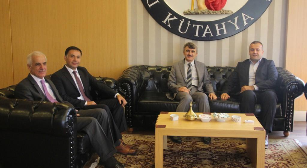 Kütahya Cumhuriyet Başsavcısı Akbey'den Rektörümüze Ziyaret