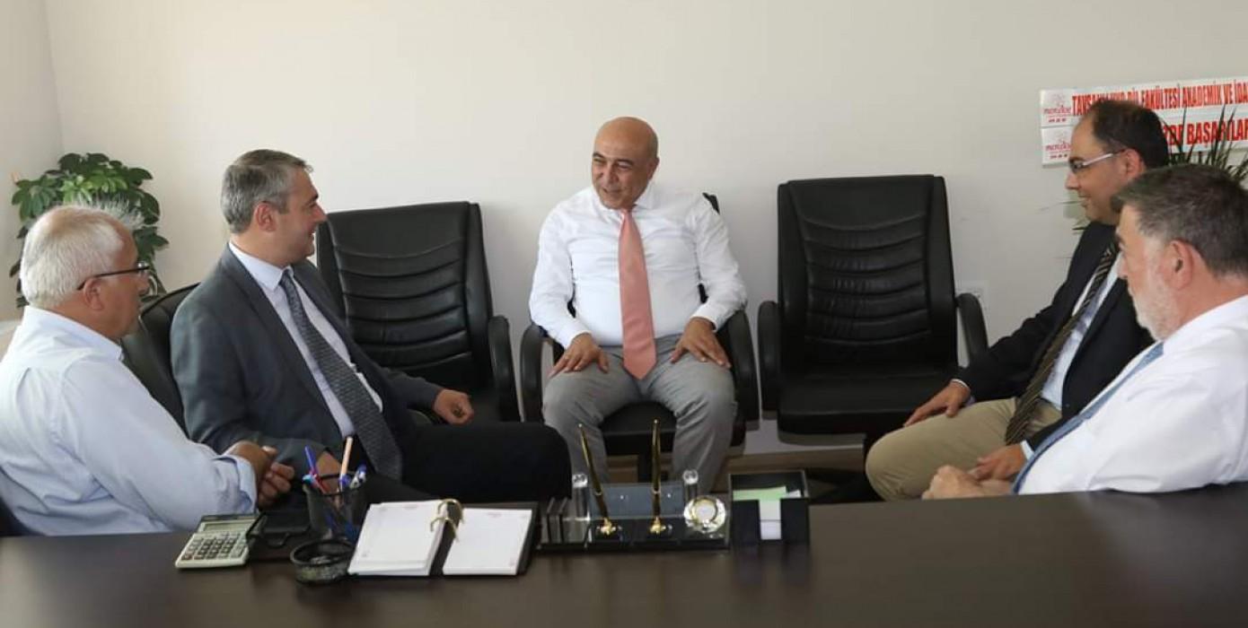 Tavşanlı Belediye Başkanı Mustafa Güler'den Dekanımıza Ziyaret