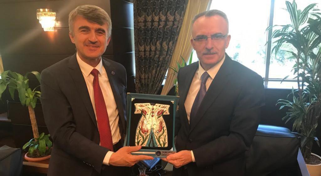 Prof. Dr. Kazım Uysal'dan Ağbal ve Yazıcı'ya Ziyaret