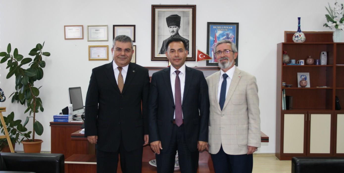Üniversitemiz Rektör Yardımcısı Prof. Dr. Mustafa Aydın Meslek Yüksekokulumuzu Ziyaret Etti