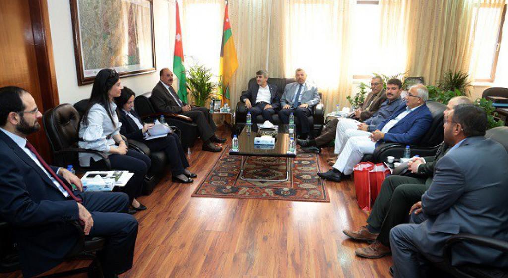 Prof. Dr. Kazım Uysal'dan Ürdün Üniversitesine Ziyaret